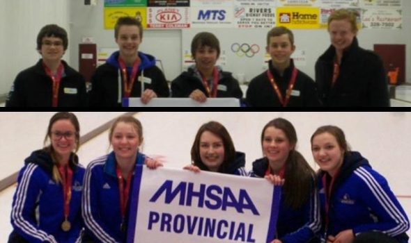 MHSAA Provincial High School Curling Champions